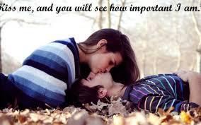 Love Kiss Me Wallpaper Hd