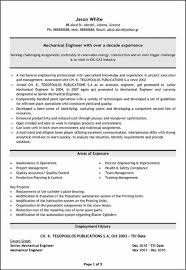 Best Resume For Mechanical Engineers Sales Mechanical Site
