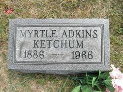 """Myrtle """"Myrt"""" Adkins Ketchum (1886-1966) - Find A Grave Memorial"""