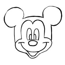誰でも簡単ミッキーマウスの描き方顔編ゆきみ屋