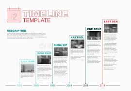 Vector Infographic Company Milestones Timeline Template Stock Vector ...