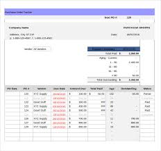 Purchase Order Tracking Excel Spreadsheet As Inventory Spreadsheet