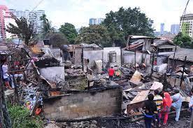 Sembilan rumah setinggan musnah dalam kebakaran | Borneo Post Online