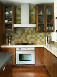 stick wall tiles quotxquot: self adhesive backsplashes pictures ideas from hgtv kitchen contemporary with multicolor tile backsplash home and