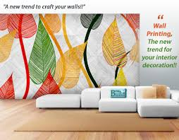 Interior Design Wall Photos Wall Printing The New Trend For Your Interior Decoration