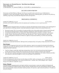 40 Free Manager Resume Templates PDF DOC Free Premium Templates Magnificent Business Manager Resume