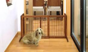 dog gates for house. Wide Dog Gate Indoor Fence Ideas Wooden Panel Gates Extra Pet 60 Inch . For House