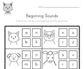 Perfect for differentiation, assessment or seat work. Beginning Sounds Worksheets All Kids Network