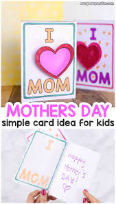 Simple Mothers Day Card Idea Easy Peasy And Fun