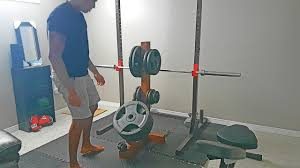 diy weight plate rack
