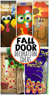 pumpkin door decoration fall classroom door decorations glass door decoration ideas for school