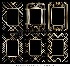 Great Gatsby Invitation Template Great Gatsby Free Vector Art 41 Free Downloads