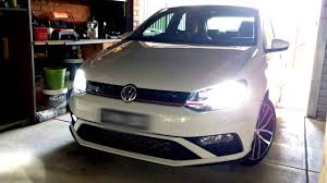 VW Polo 6c GTI LED Fog Light Upgrade - YouTube