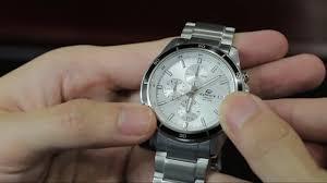 Hướng dẫn cách chỉnh ngày giờ và sử dụng đồng hồ Casio Edifice - META.vn