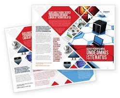 Electronic Brochure Template Telecommunication Brochure Templates Design And Layouts