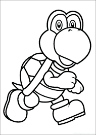 Super Mario Odyssey Coloring Pages To Print Mario Pages Super