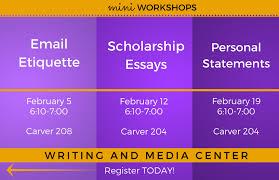 writing and media center iowa state university mini workshops hosted by writing and media center