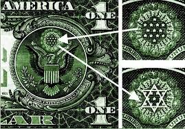 Image result for jewish star of david on our money