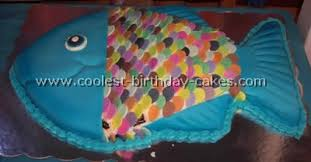 Coolest Fish Birthday Cakes Photo Gallery