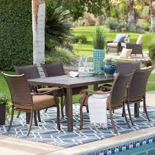 wicker patio dining chairs. Home Ideas: Simple Belham Living Outdoor Furniture Anatara All Weather Wicker Sofa Sectional Set From Patio Dining Chairs