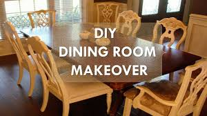 redo kitchen table luxury diy dining room makeover just chalk paint fabric