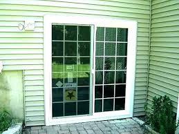 install sliding patio door removing patio