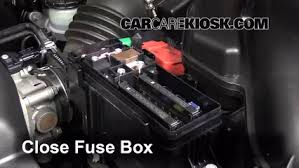 replace a fuse 2011 2017 honda odyssey 2011 honda odyssey ex l 6 replace cover secure the cover and test component