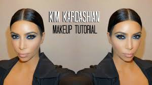 kim kardashian blue smokey eye mario dedivanovic makeup tutorial
