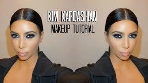 kim kardashian blue smokey eye mario dedivanovic makeup tutorial you