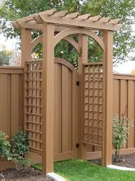 Small Picture 3 this pergola gate for when we eventually do the fence on the