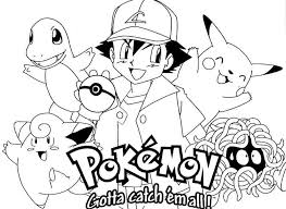 Small Picture Free Pokemon Coloring Pages To Print Online Fura Lv Pinterest