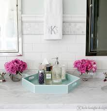 Decorative Bathroom Tray signature collection luxury pale polished horn bathroom set inc 9