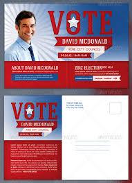 Political Postcard Template 14 Political Postcard Templates Free ...