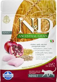 Сухой корм <b>Farmina N&D</b> Ancestral Grain Cat <b>Adult</b> низкозерновой ...