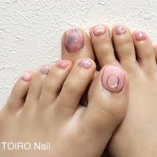 春夏デート女子会フット Toironailのネイルデザインno3294052