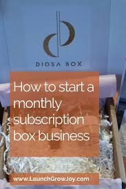 Start Boxes Seven Tips For Starting A Monthly Subscription Boxes Business W
