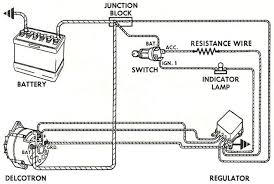 alternator wiring diagram alternator ford