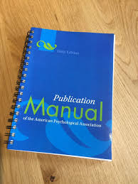 American Psychological Association Manual Apa