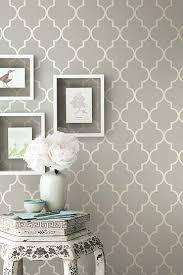 wallpaper living room accent wall