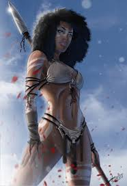 black amazon warrior.  Warrior With Black Amazon Warrior