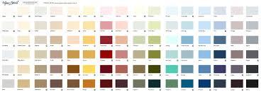 Turquoise Paint Color Chart Natural Paint Colours