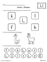 All About Letter L Worksheet