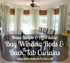 create a bay window curtain rod from electrical conduit ping usa