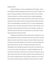 authoritative parenting style essay my opinion on parenting  most popular documents for psychology