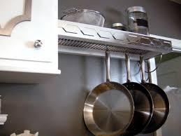 how to build a pot rack with shelf