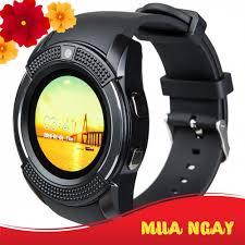 Đồng hồ thông minh Smart Watch V8 mặt tròn có sim, thẻ nhớ giảm chỉ còn  255,000 đ