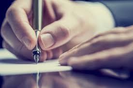 Lawyer Writing Note e