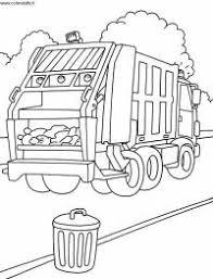 Disegni Da Colorare Camion Con Gru Disegno Di Camion Gru Da