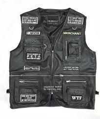 embroidered motorcycle leather vest with patches img 20160306 161354