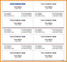 5 Free Business Card Template Word Trinity Training